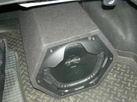 Установка сабвуфера Sony XS-GTX121LT в KIA Magentis