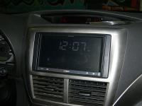 Фотография установки магнитолы Pioneer AppRadio 2 SPH-DA100 в Subaru Impreza