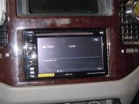 Фотография установки магнитолы Sony XAV-E60 в Mitsubishi Pajero III