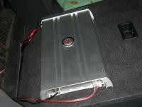 Установка усилителя DLS MAD11 в Toyota Camry V40