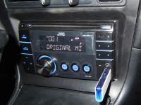 Фотография установки магнитолы JVC KW-XR417EE в Toyota Corolla