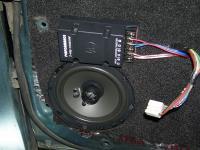 Установка акустики DLS 426 в Mitsubishi Lancer X