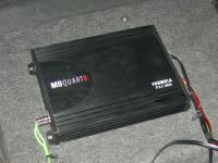 Установка усилителя MB Quart FX1.600 в Suzuki Liana