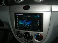 Фотография установки магнитолы Pioneer AVH-X4500DVD в Chevrolet Lacetti