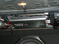 Установка усилителя MTX RT500.1D в Chevrolet Cruze