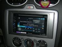 Фотография установки магнитолы Pioneer AVH-X1500DVD в Ford Focus 2