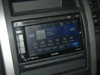 Фотография установки магнитолы Alpine INE-W920R в Nissan X-Trail (T31)
