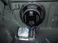 Установка акустики DLS 426 в Nissan Almera Classic
