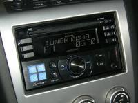 Фотография установки магнитолы Alpine CDE-W233R в Nissan Murano