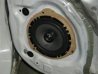 Установка акустики Alpine SXE-1725S в Nissan Note