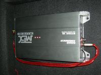 Установка усилителя MTX RT500.1D в Opel Astra H