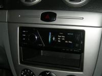 Фотография установки магнитолы Pioneer MVH-8300BT в Chevrolet Lacetti