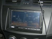 Фотография установки магнитолы Alpine ICS-X7 в Mazda 3 (II)