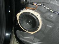 Установка акустики Morel Maximo Coax 6 в Ford Galaxy
