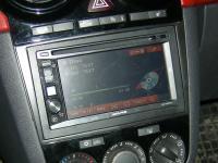 Фотография установки магнитолы Alpine IVE-W530BT в Opel Corsa D