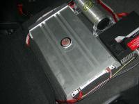 Установка усилителя DLS MAD11 в Honda Civic 5D