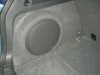 Установка сабвуфера Rockford Fosgate P3SD212 в Volkswagen Tiguan