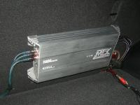 Установка усилителя MTX RT60.4 в KIA Sportage III (SL)