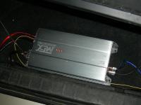 Установка усилителя MTX RT60.4 в Suzuki Grand Vitara