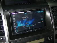 Фотография установки магнитолы Pioneer AVH-X4500DVD в Toyota Land Cruiser 120