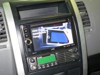Фотография установки магнитолы JVC KW-AV61BTEE в Nissan X-Trail (T31)