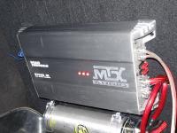 Установка усилителя MTX RT500.1D в Lada Priora