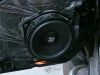 Установка акустики Morel Maximo 6 в Nissan NP300