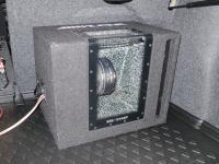Установка сабвуфера Alpine SBG-1244BP в Volkswagen Jetta VI