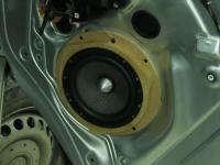 Установка акустики MTX T6S652 в Volkswagen Transporter T5