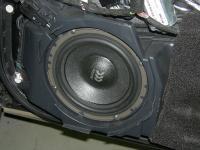 Установка акустики Morel Virtus 602 в Audi A6 (C6)