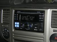 Фотография установки магнитолы Alpine CDE-W235BT в Nissan X-Trail (T30)