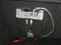 Установка усилителя MTX RT500.1D в Opel Astra J GTC