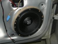 Установка акустики Morel Maximo 6 в Volkswagen Polo V