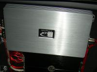 Установка усилителя Kicx QS 1.600 в Hyundai ix35