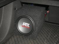 Установка сабвуфера MTX RT10-04 box в Chevrolet Cruze