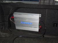 Установка усилителя Crunch GP2350 в Nissan Maxima