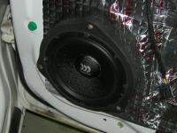 Установка акустики Morel Maximo 6 в Chevrolet Cruze