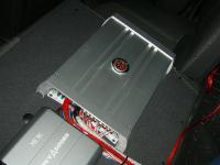 Установка усилителя DLS MA41 в Opel Astra H GTC