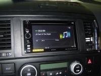 Фотография установки магнитолы Sony XAV-E60 в Volkswagen Multivan T5