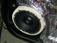 Установка акустики Morel Virtus 602 в Nissan Almera Classic
