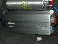 Установка усилителя MTX RT60.4 в Nissan Almera Classic
