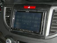 Фотография установки магнитолы Alpine INE-W977BT в Honda CR-V (IV)