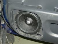 Установка акустики Morel Maximo 6 в Honda CR-V (I)