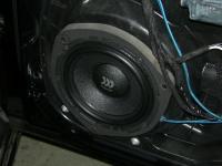 Установка акустики Morel Virtus 602 в Mercedes ML (W163)