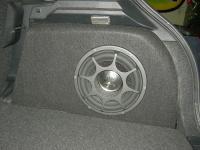 Установка сабвуфера Morel Primo 104 в Mitsubishi ASX