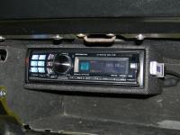 Фотография установки магнитолы Alpine CDA-117Ri в Buick GSX