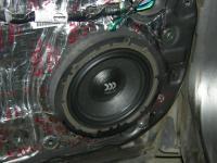 Установка акустики Morel Virtus 602 в Nissan X-Trail (T31)