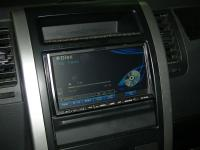 Фотография установки магнитолы Alpine INA-W910R в Nissan X-Trail (T31)