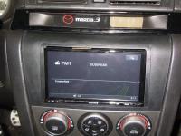 Фотография установки магнитолы Sony XAV-E70BT в Mazda 3