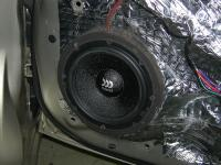 Установка акустики Morel Maximo 6 в Mitsubishi Lancer X